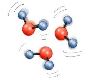 Wasser Molekuele